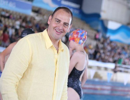 Petar Stoychev wished success to Galata – Varna swimmers