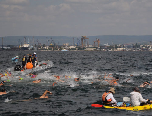 Traditional Galata-Varna Open Water Swimming Marathon, now in its 79th year