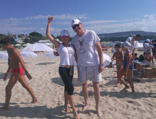 Philip Rombaut and Lucky Hunt – ambassadors of swimming for pleasure and without stress!