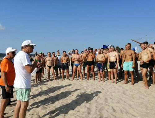 Enthusiasts warmed up for Galata-Varna marathon with a mass swimming holiday
